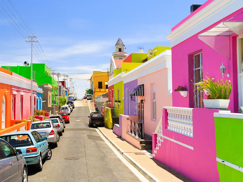 private authentic tours cape town saffa tours bo kaap cape malay colourful houses