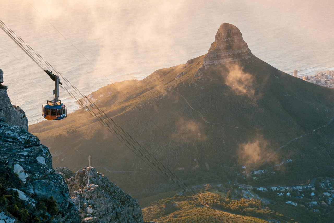 The Table Mountain Cableway private tours cape town saffa tours